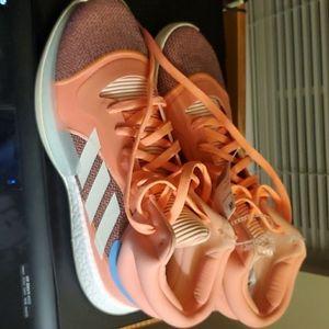 Adidas Harden Marquee Boost, Sun Glow/Cream White